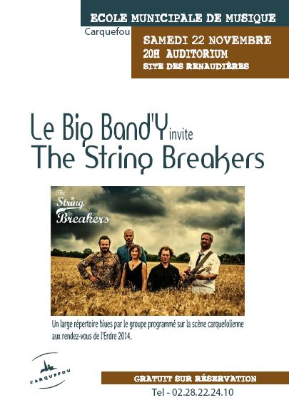 20141122 affiche String Breakers