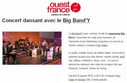 20160114 – Ouest France