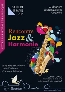 2016-03-19 Aff Big Band Harmonie Pontivy