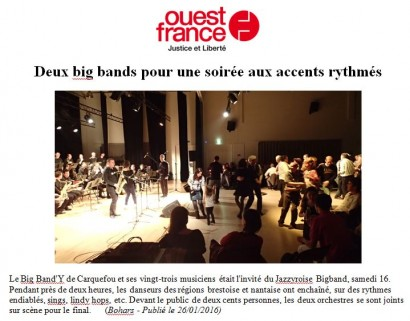 20160126 – Ouest France