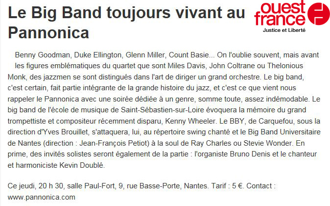 Article OF - Big Band Party