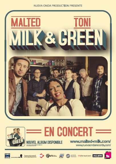 Malted Milk Toni Green affiche